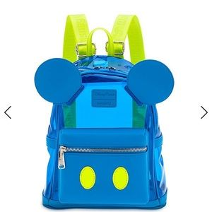 Disney Mickey Mouse Neon backpack by Loungefly